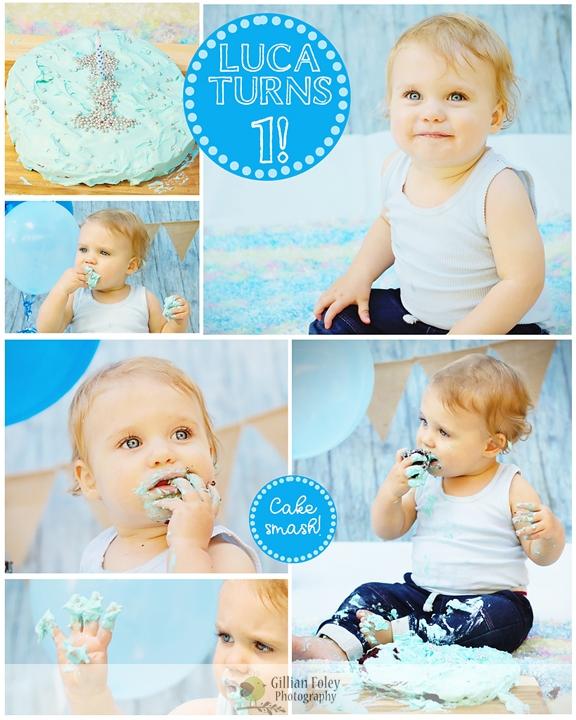 Cake Smash | Gillian Foley Photography