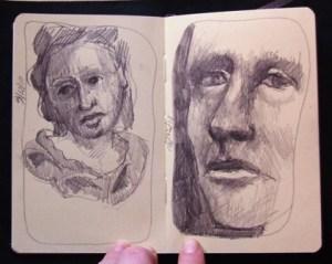 Sunday sketches