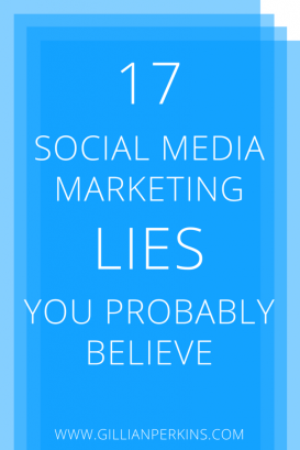 Trying to grow you business with social media? You could be making way more progress if you didn't believe these 17 social media marketing LIES. Which ones have you fallen for? Find out in this article!