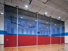 roll up gymnasium divider curtain