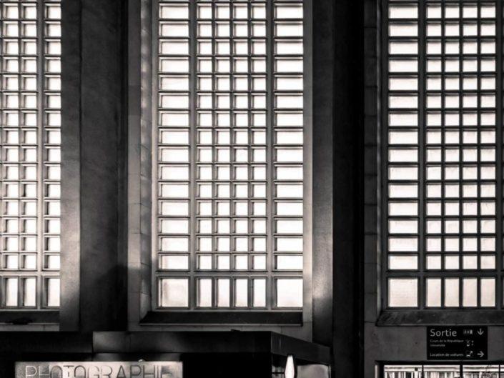 Quadrillage - Gare du Havre (Henri Pacon 1932)
