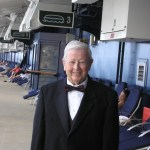 Gil ready for a special night on the Cruise Ship looking dapper in his tuxedo.