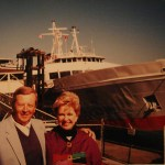 Gil and his wife, Dee, getting ready for a small cruise.