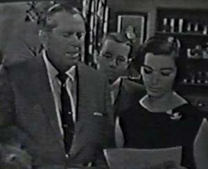 From the TV show Climax! starring James Dunn and Marisa Pavan