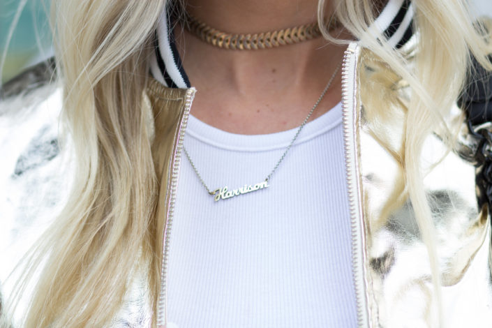 gold tattoo choker