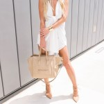 FROM SWEET TO STREET: WHITE TIE ROMPER TWO WAYS.