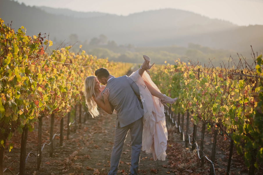 wine country vineyard wedding pictures, wedding ceremony