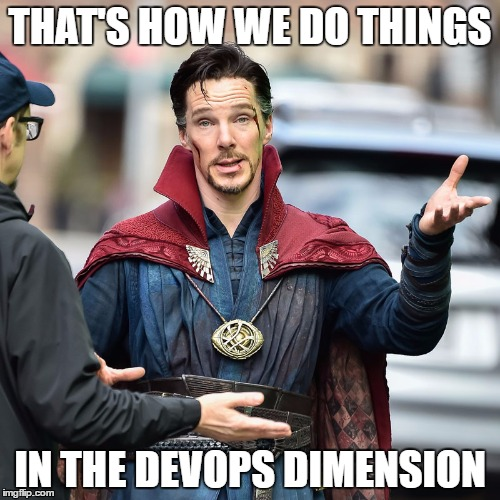 This is how we do things in devops meme