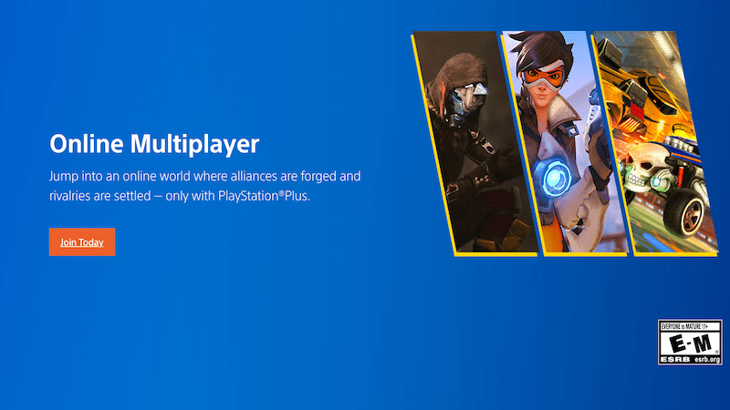 keuntungan playstation plus - online multiplayer