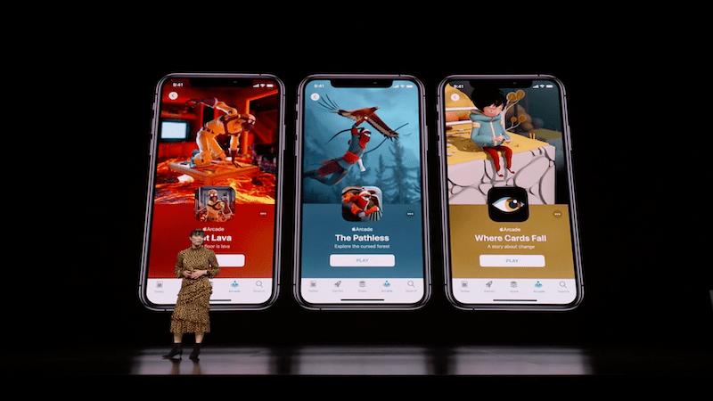 Apple keynote showcase game