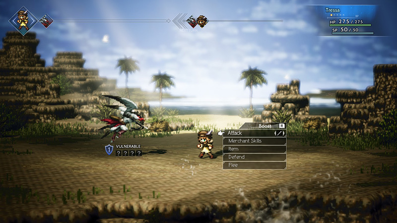 review-octopath-traveler-indonesia-grafis