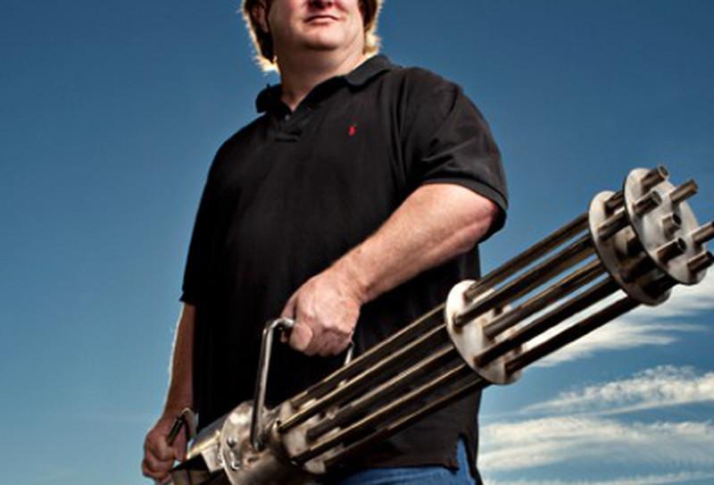 Gabe Newell - Minigun