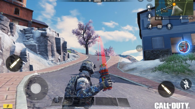 class battle royale call of duty mobile