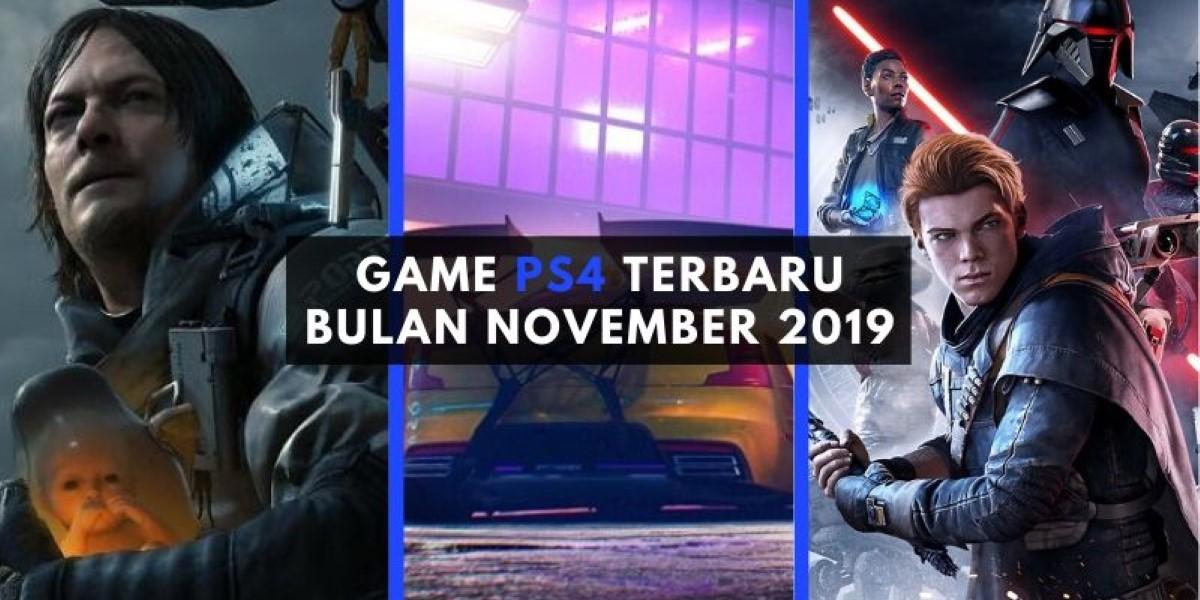 game ps4 terbaru november 2019