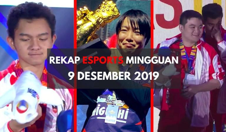 Rekap Berita <em>Esports</em> dalam Sepekan – 9 Desember 2019
