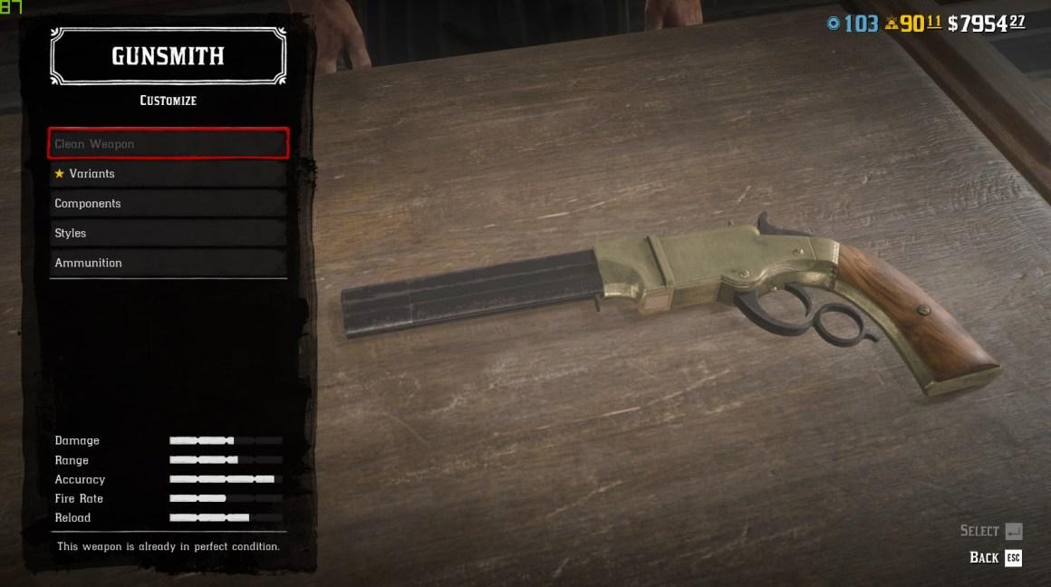 volcanic pistol