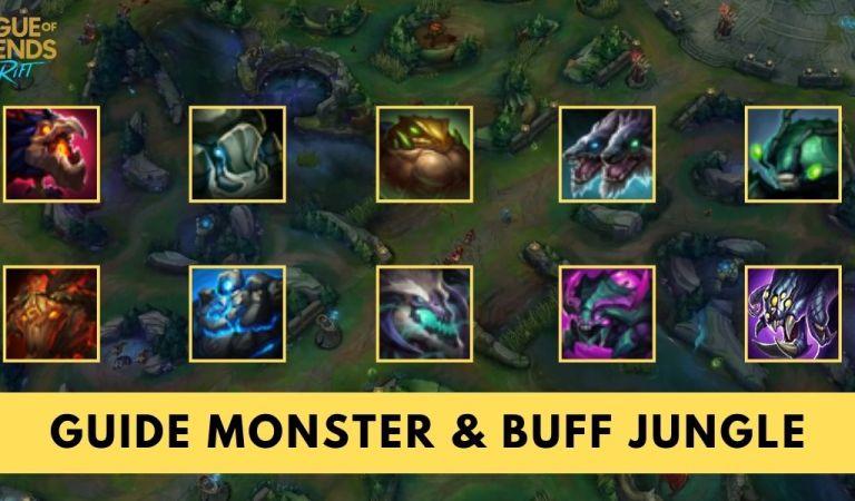Panduan Mengenal Monster dan <em>Buff Jungle</em> di <em>League of Legends: Wild Rift<em>