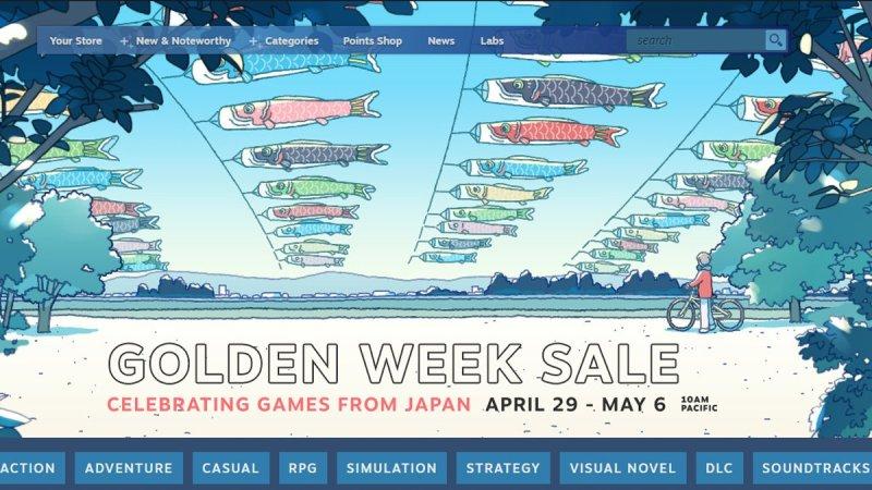 game steam golden week sale 2021