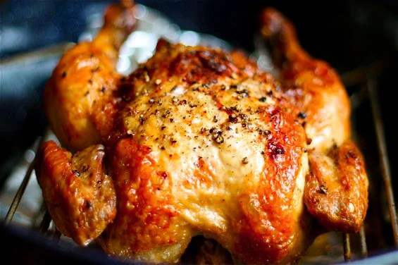 Crispy Roasted Garlic Chicken Recipe | Gimme Some Oven