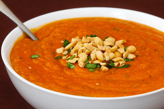 Image result for carrot ginger soup topped with sriracha