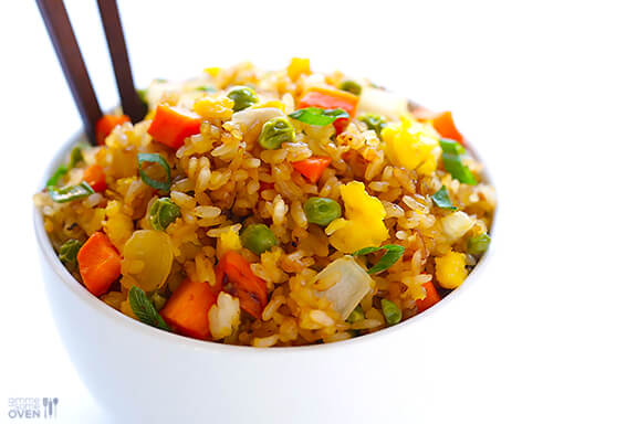 How To Make Fried Rice   gimmesomeoven.com