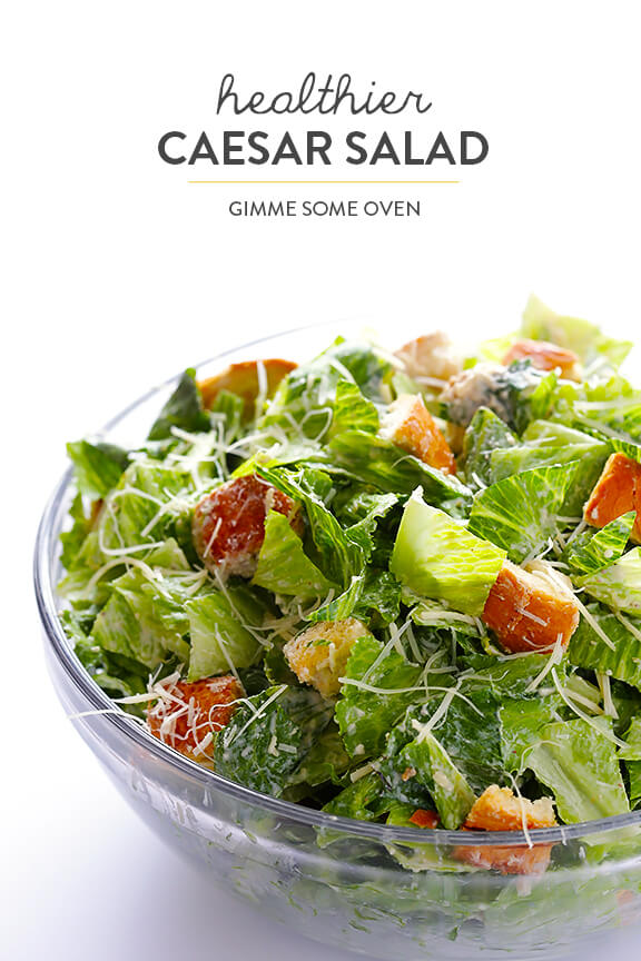 Greek Caesar Salad Recipe