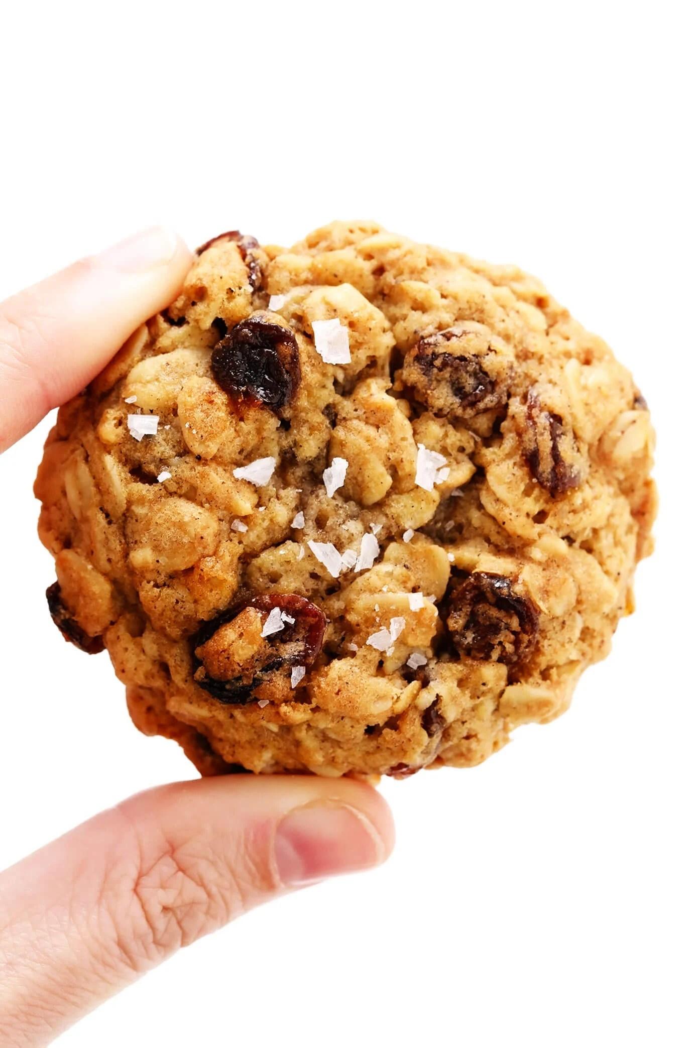 Oatmeal Raisin Cookie Closeup