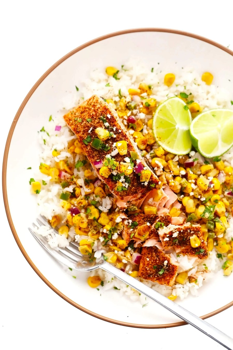 Chili Lime Salmon with Esquites