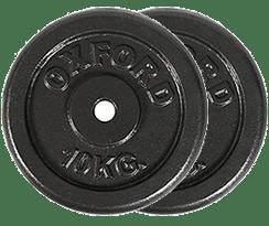discos de 20 kg. para barra