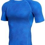 camiseta compresion gimnasio piel serpiente