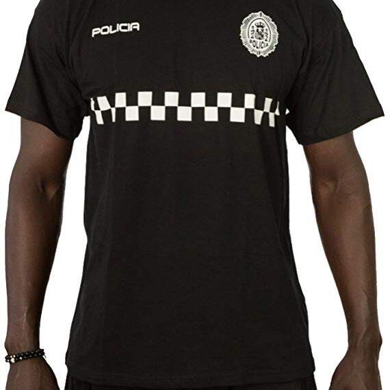 camiseta policia local