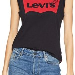 camiseta tirantes fitness mujer levis