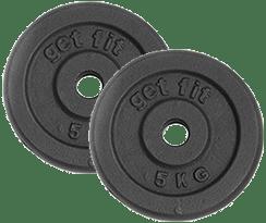discos 10 kilogramos para barra