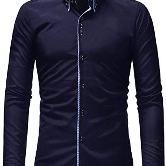 camisa cuello doble