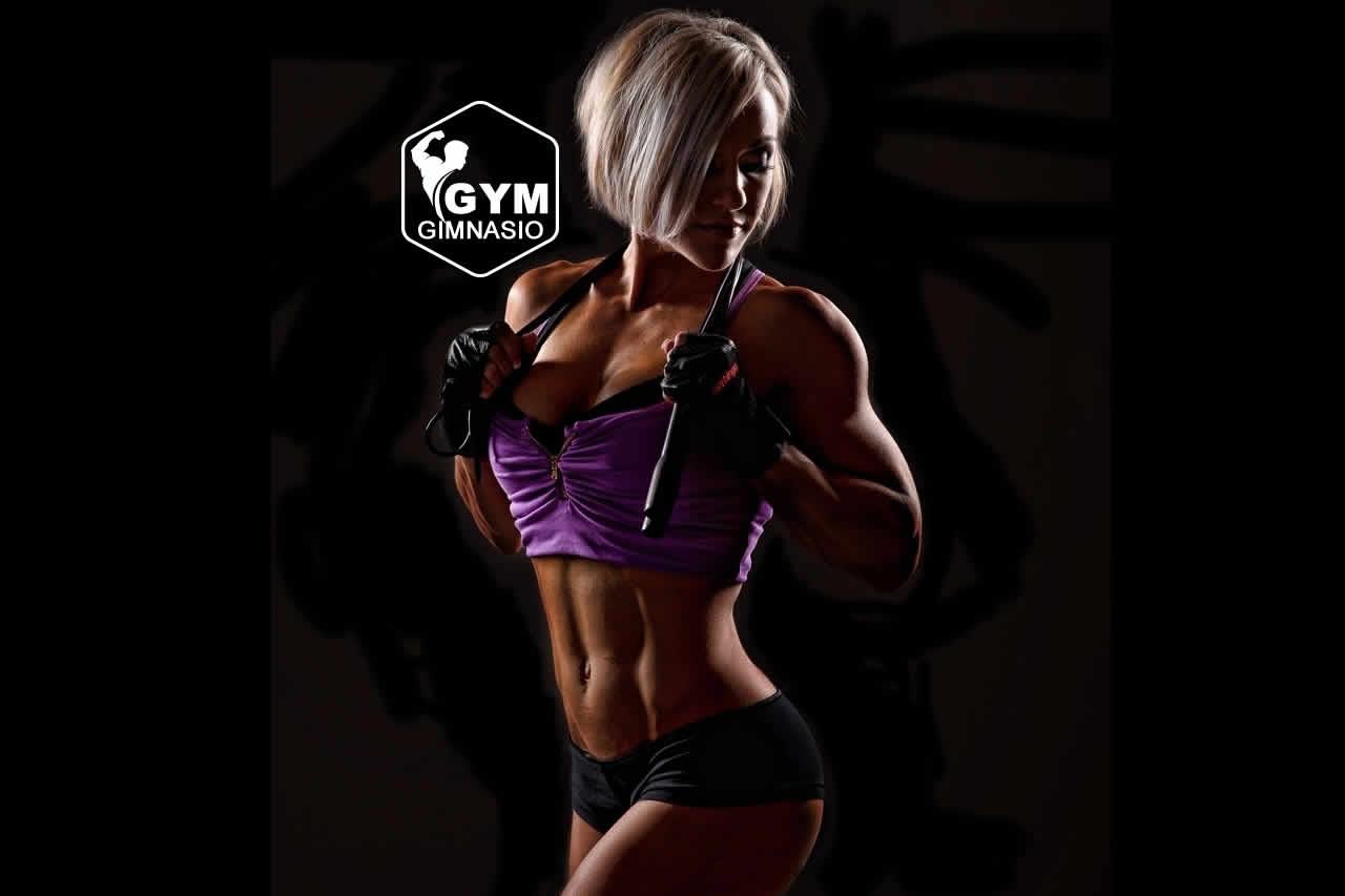 aumento de pecho en el gym