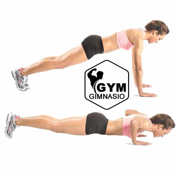 aumento de pechos en el gym