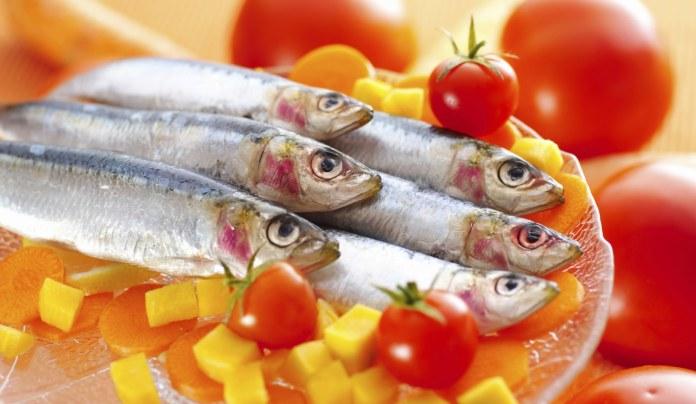 Sardinas y dieta fitness