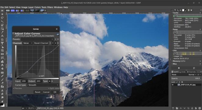Lançamentos de desenvolvimento do GIMP 2.99.x começarão em breve