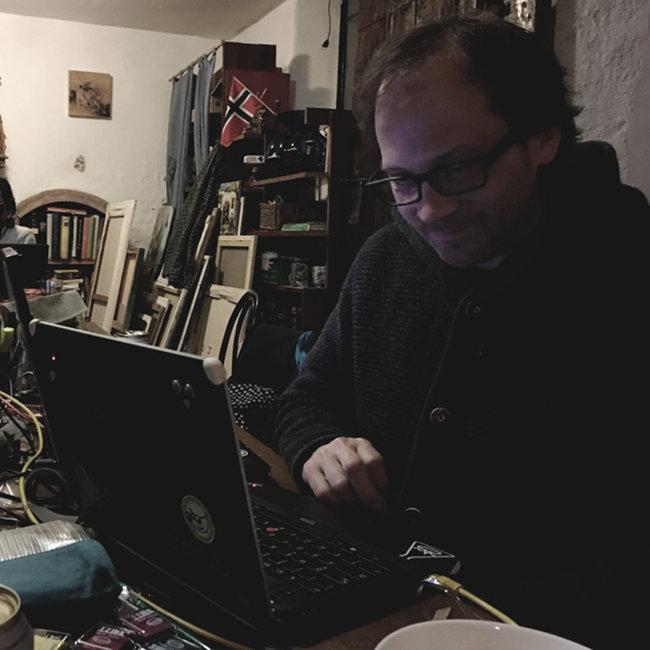 Mitch at work