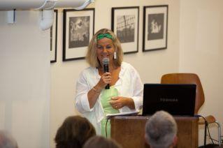 Host Sabine Erlenwein (Director Goethe-Institute San Francisco) | © 2011 Philipp Weitz Photography