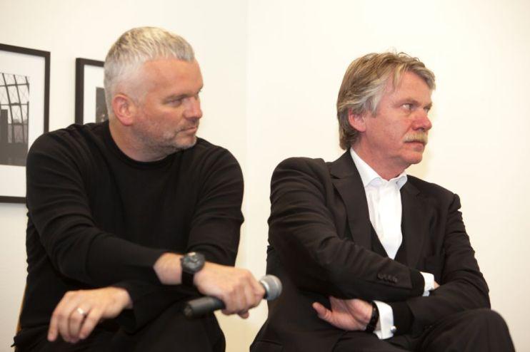 Wilhelm Oehl (Eight Inc.) with Professor Klaus Klemp | © 2011 Philipp Weitz Photography