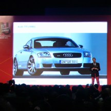 Stefan Sielaff, Head of Design at Audi, talking about 1998's Audi TT which introduced a new design language