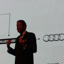 Stefan Sielaff, Head of Design at Audi