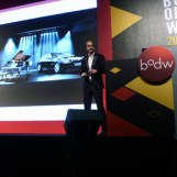Adrian van Hooydonk, Senior Vice President Group Design of BMW, talking about resources for inspiration for the brand design of BMW.