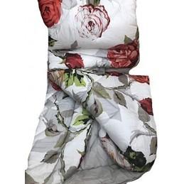 Acquista online su casabiancheria il copripiumino matrimoniale gold rose. Tag House Trapunta Matrimoniale In Raso Di Puro Cotone Di Qualita Rose Rosse Made In Italy