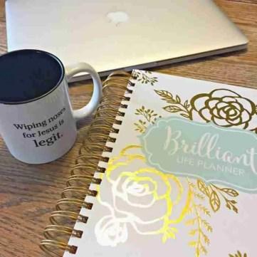 Goal Setting Planner for Moms