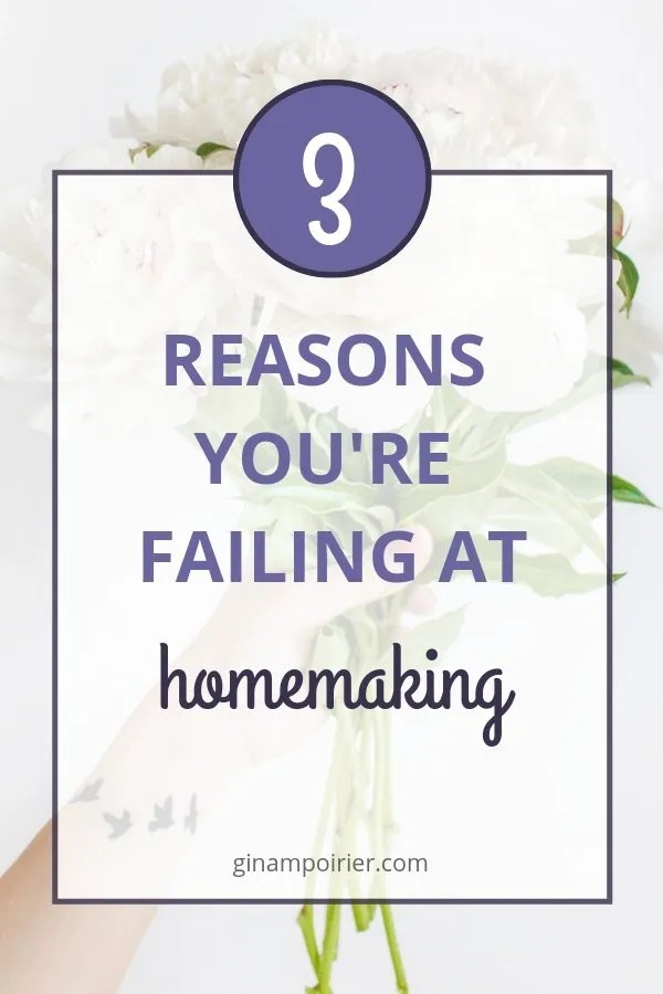 Homemaking Tips When You Feel Like a Failure