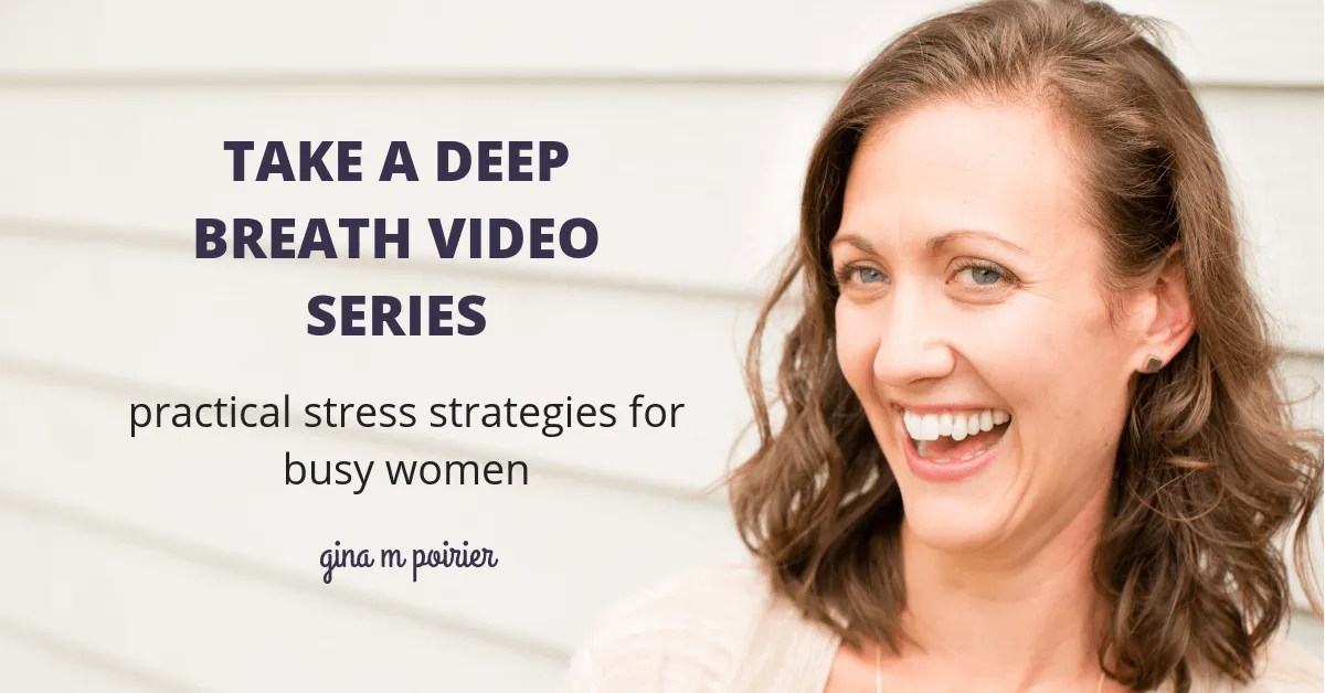 Take a Deep Breath Video Series