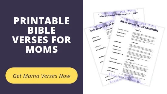 Printable Bible Verses for Moms