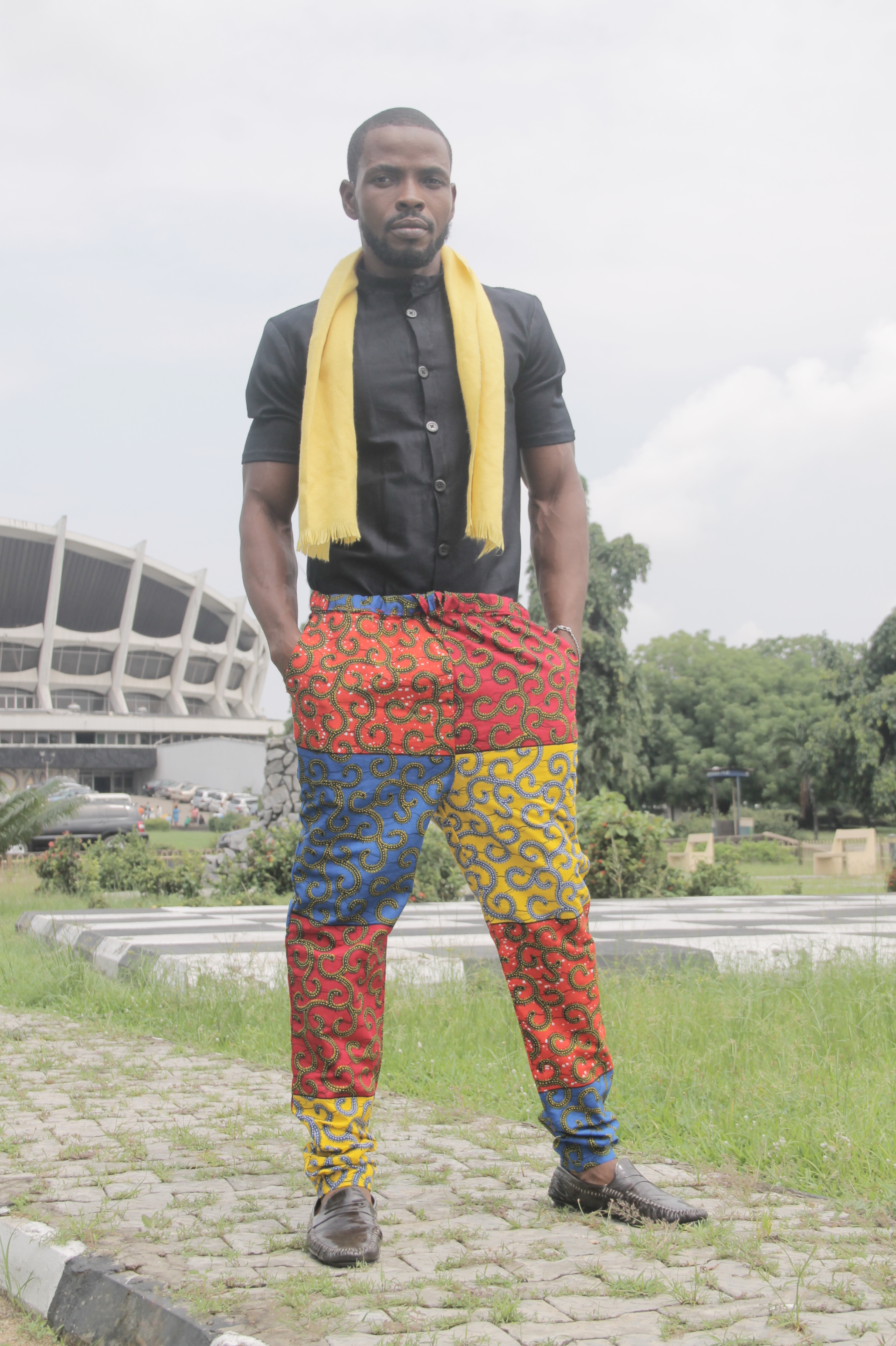 Trouser and Shirt combo by Miguel Eze